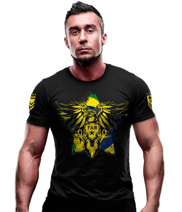 Camiseta Estampada FAB