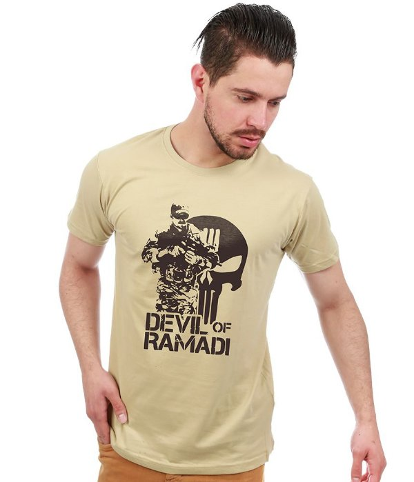 Camiseta Estampada Devil of Ramadi
