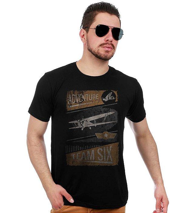 Camiseta Estampada Adventure