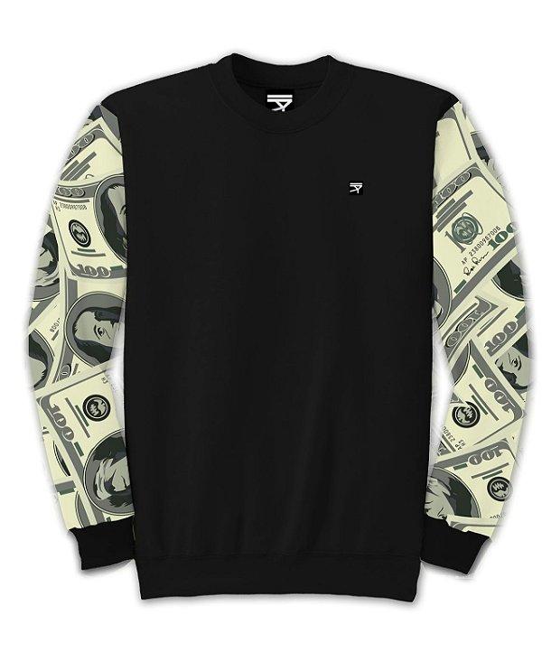 Moletom Fechado Money Flow