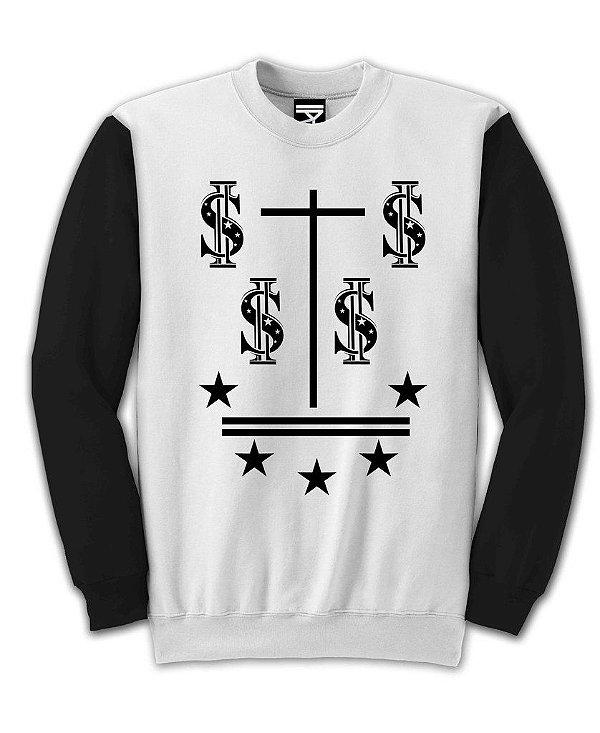 Moletom Fechado Cross Money