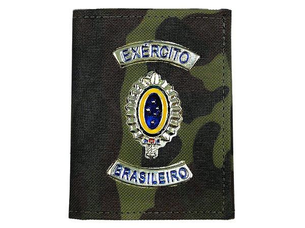 Carteira com Brasão Exército Brasileiro Camuflado EB (5 Unidades)