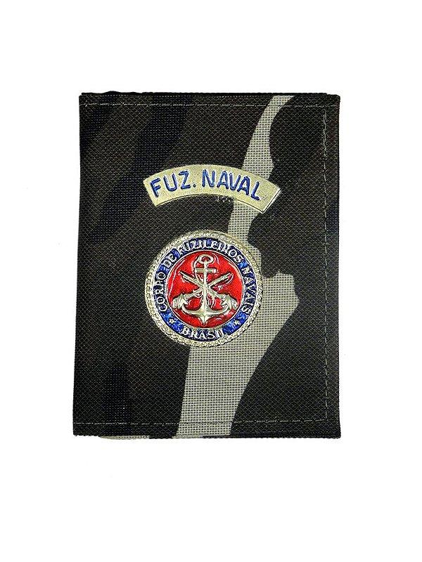 Carteira com Brasão Fuzileiro Naval Camuflado Francês (5 Unidades)