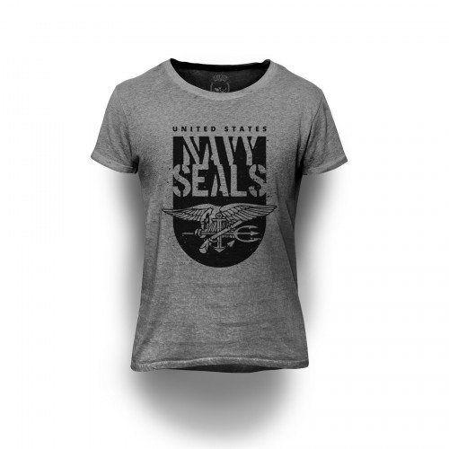 Camiseta Estampada Navy Seals
