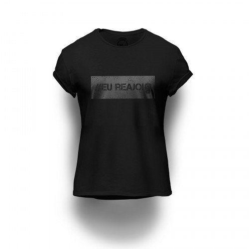 Camiseta Estampada Eu Reajo