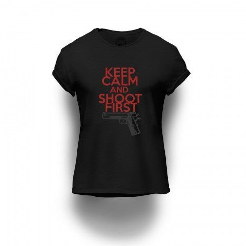 Camiseta Estampada Keep Calm