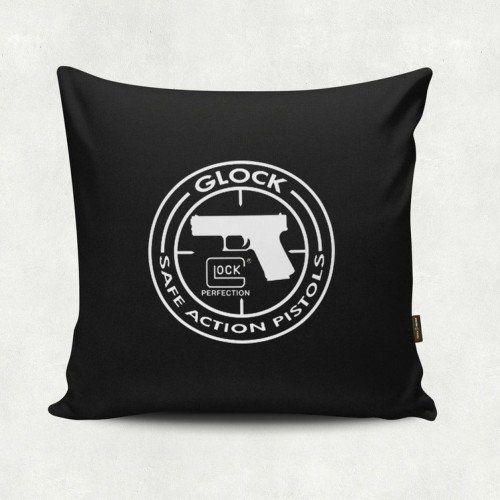 Almofada Militar Glock Action Preta