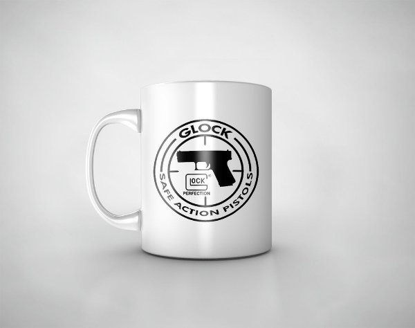 Caneca Glock Safe Action