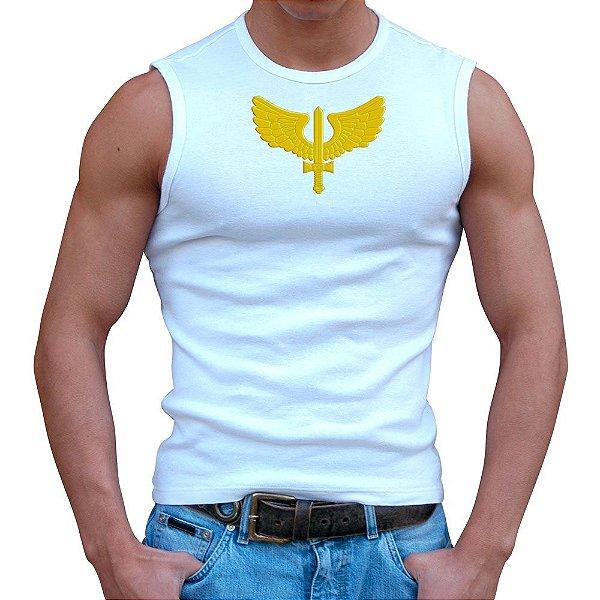 Regata Masculina Branca Força Aérea