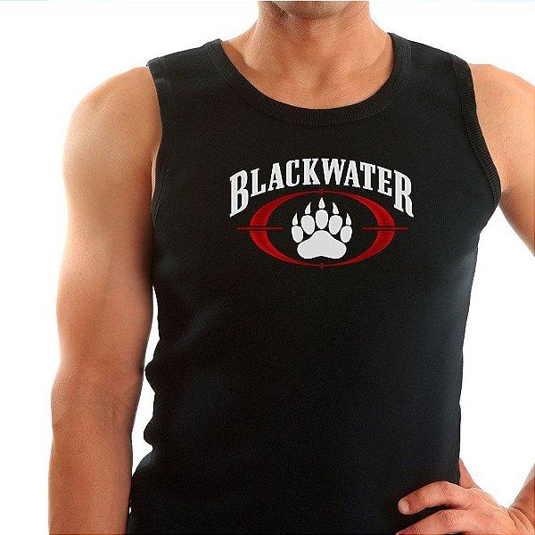 Regata Masculina Preta Blackwater