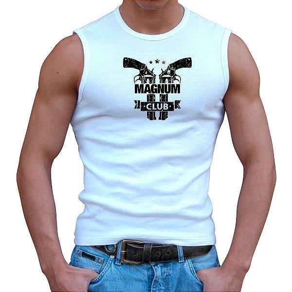 Regata Masculina Branca Magnum 44