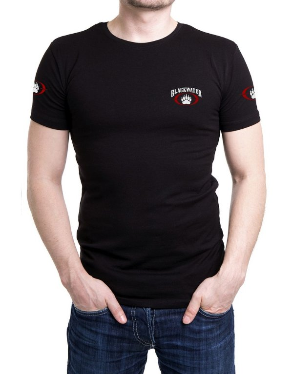 Camiseta Bordada Blackwater Preta