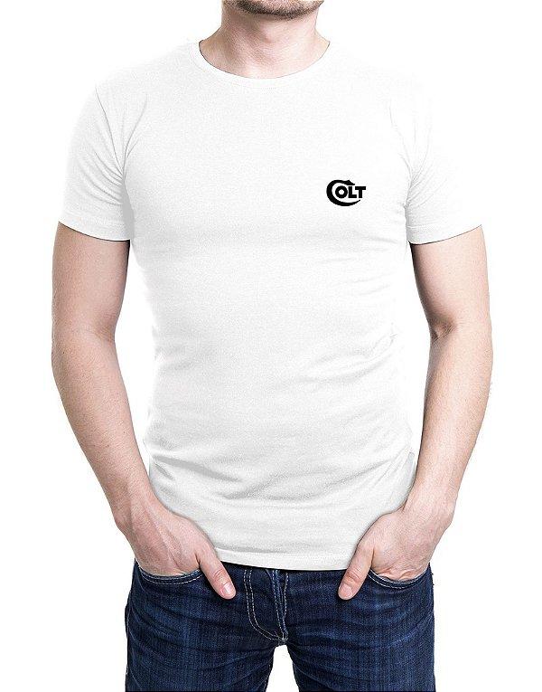 Camiseta Bordada COLT Branca