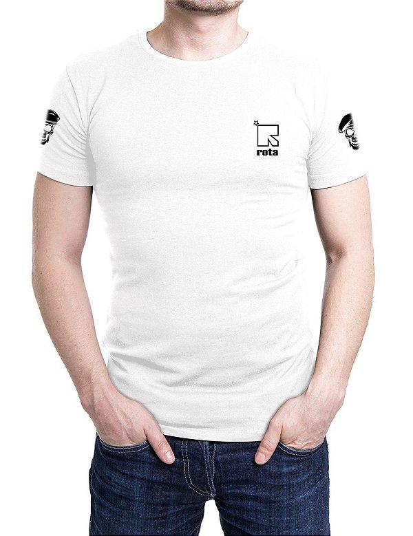 Camiseta Bordada ROTA Branca