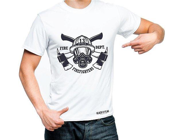 Camiseta Estampada - Bombeiro 13
