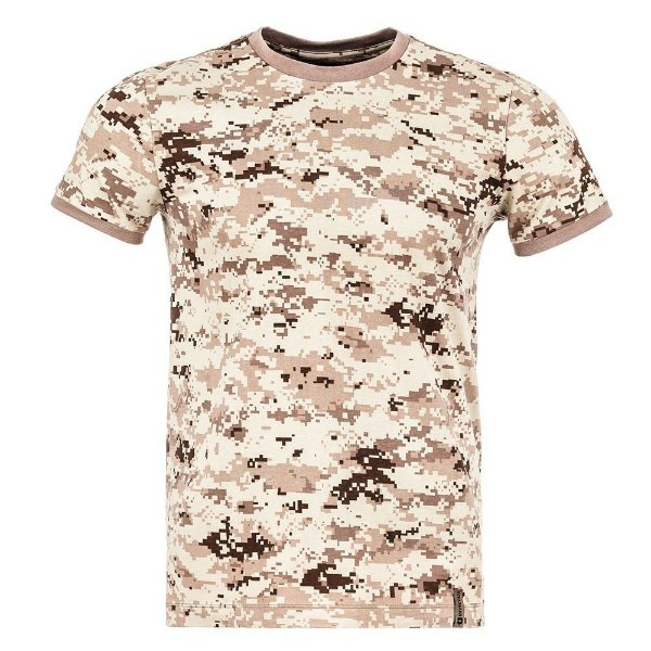 T-Shirt Tech Camuflado Digital Deserto