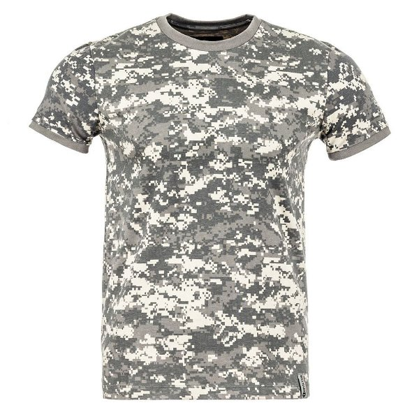 T-Shirt Tech Camuflado Digital Acu