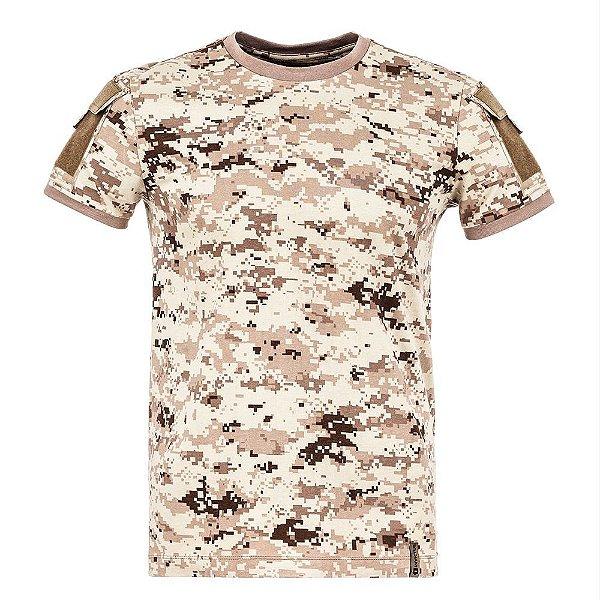 T-Shirt Army Camuflado Digital Deserto