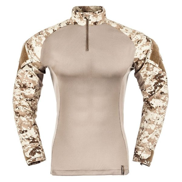 Combat Shirt Camuflado Digital Deserto