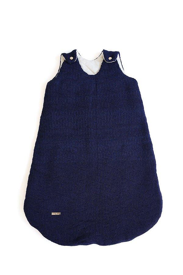 Saco de dormir cesta azul marinho