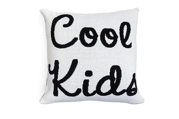 Almofada Cool Kids Preto e Branco