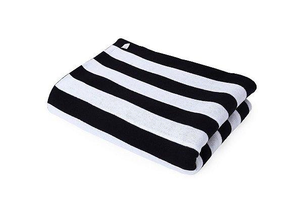 Manta Zebra Preto e Branco