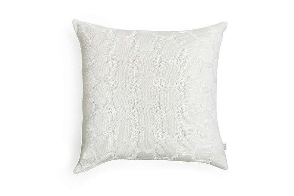 Almofada Hexag Off White