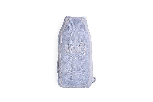 Garrafinha Milk Azul e Cinza