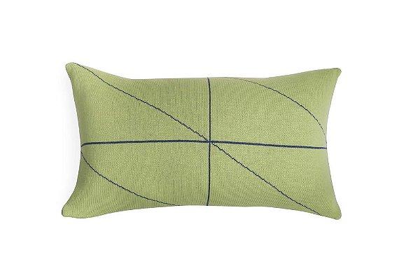 Almofada Rim Verde e Azul