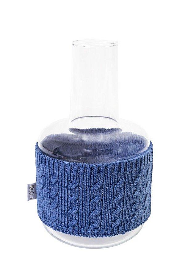 Garrafa Baixa Azul