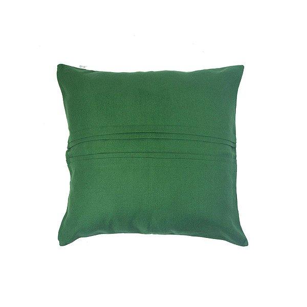 Almofada Linho Vinco Verde Bandeira