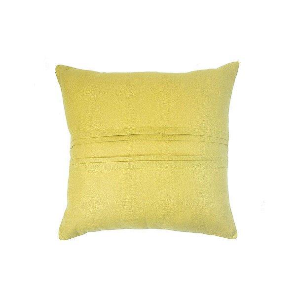 Almofada Linho Vinco Amarela