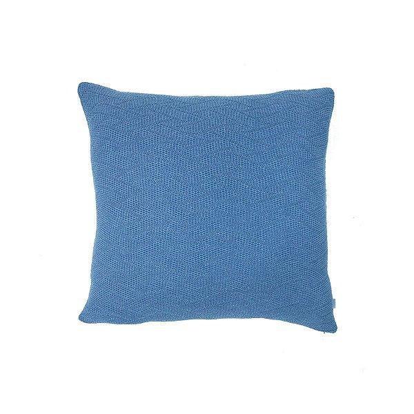 Almofada Textura Azul Naval