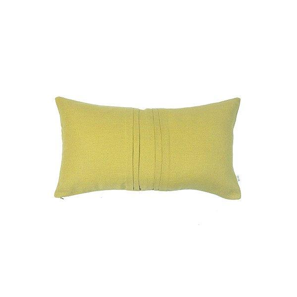 Almofada Rim Linho Vinco Amarela