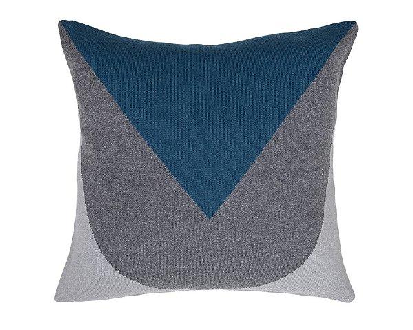 Almofada Bico Cinza e Azul