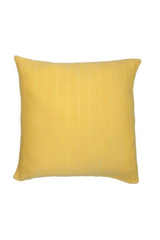 Almofada Textura Amarelo