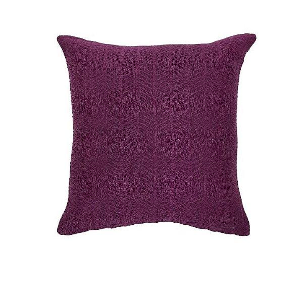 Almofada Textura Roxo