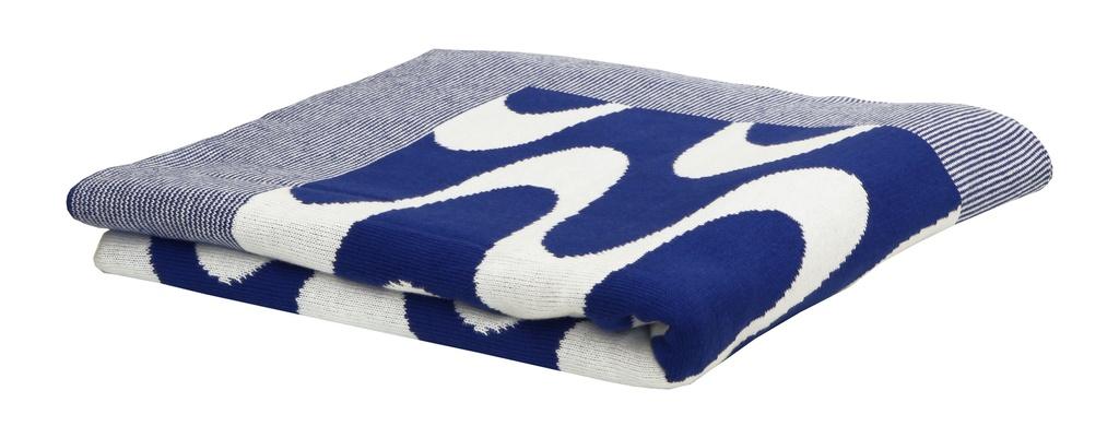 Peseira Ipanema Branco e Azul