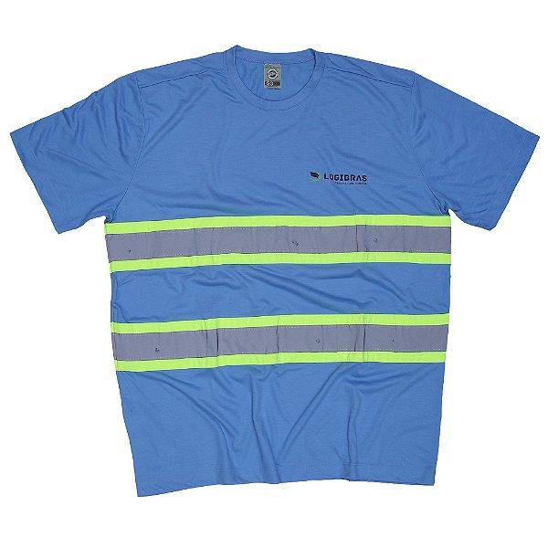 Uni Camiseta Refletiva - LOGIBRAS