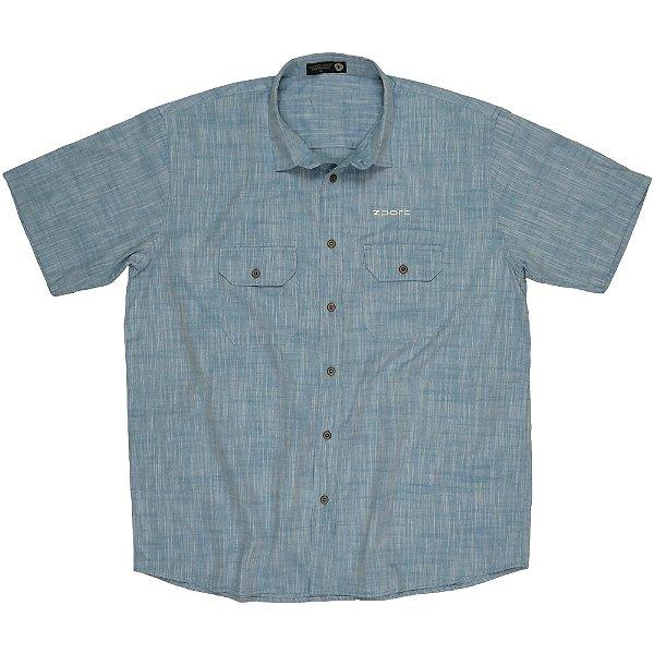 Uni Camisa Trade Bolsos com Lapela - ZPORT