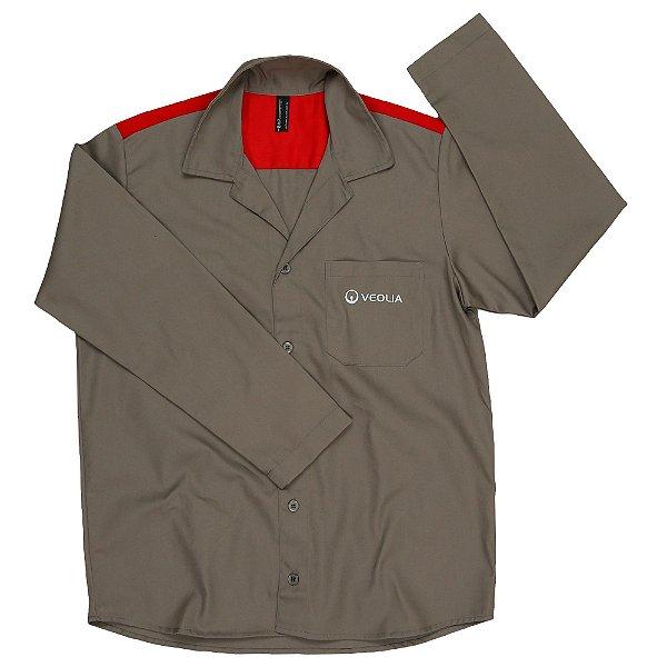 Uni Camisa Operacional ML  - Veolia