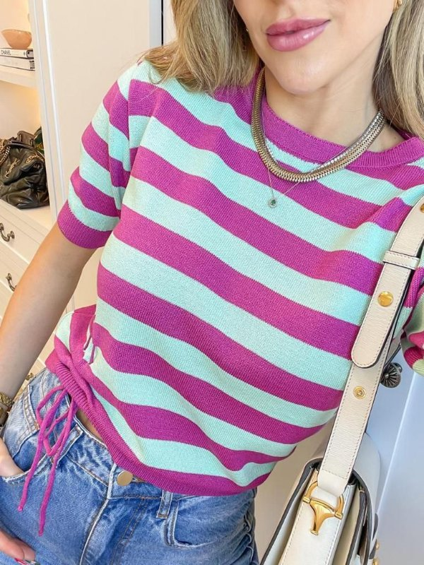 Blusa De Listras Rosalie