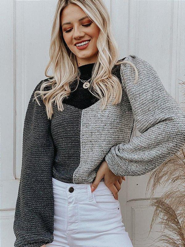 Blusa Sophie Tricolor
