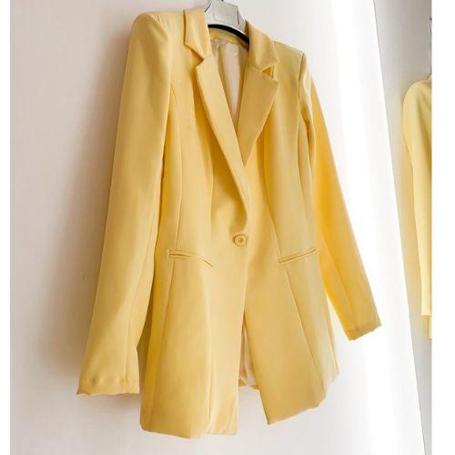 Blazer Amarelo Alfaiataria