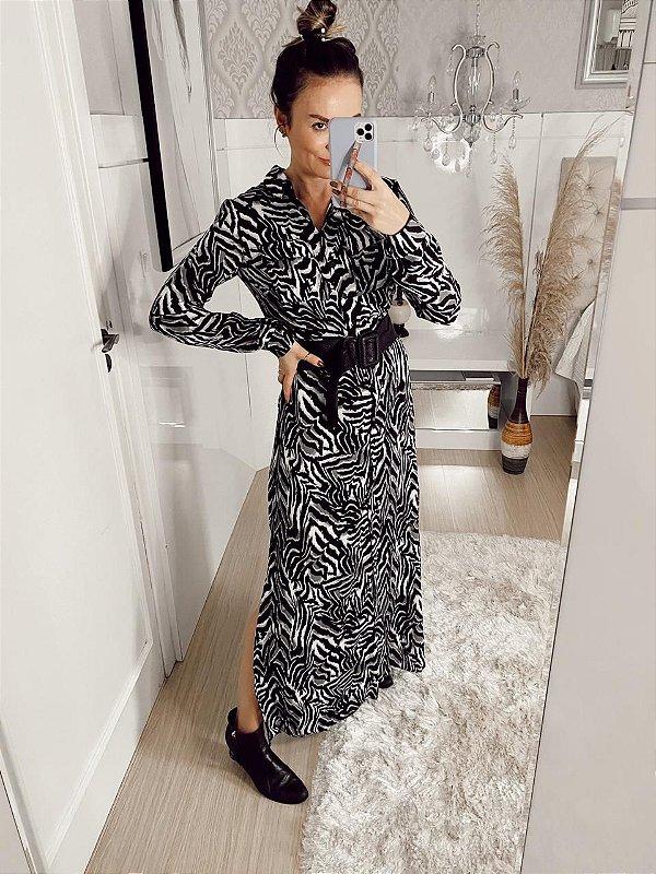 Vestido com Print Catarina