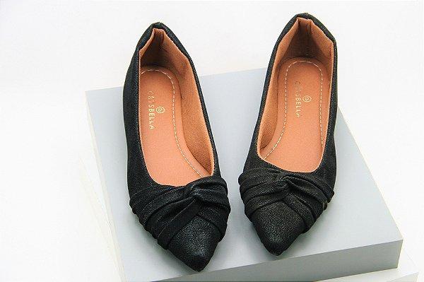 Laço Invertido - Black Velvet