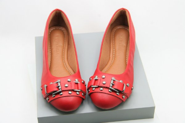 Ballerina Buckle - Vermelha