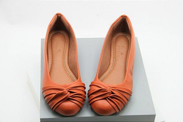 sapatilha no invertido laranja