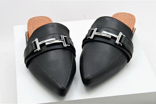 Mule Gucci Inspired - Black