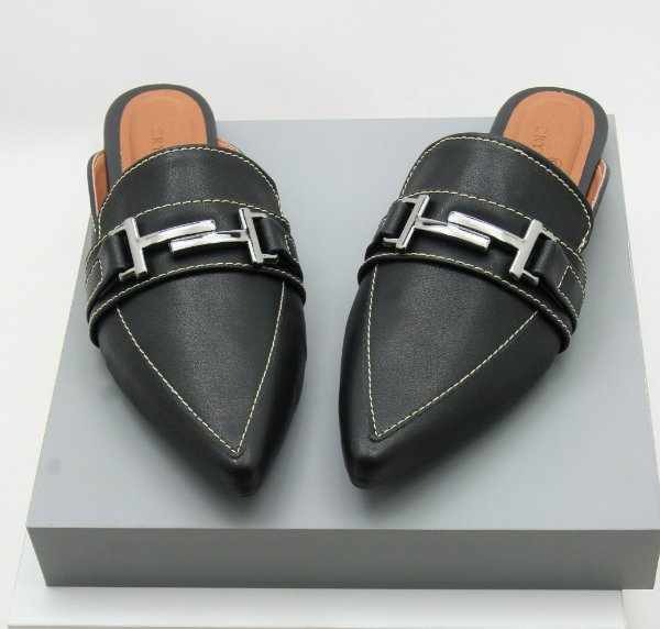 Mule Gucci Inspired - Black Comfort